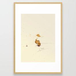 #coffeemonsters 450 Framed Art Print