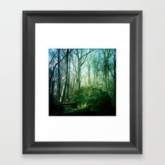 earth tree. Framed Art Print