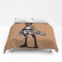 Mikasa Ackerman Nice3 Comforters
