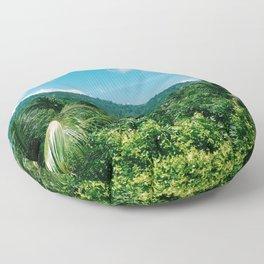 Sierra Nevada in colombian caribbean Floor Pillow