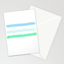 Landscape in Abstract Stationery Cards