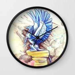 Desert Gryphon Wall Clock