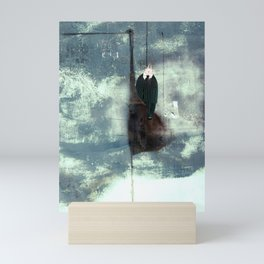 Time Rabbit and Crane Mini Art Print
