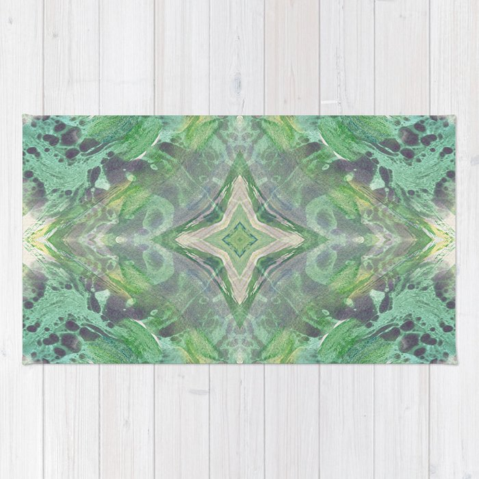 Abstract Texture Rug