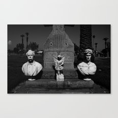 Cementary in Los Angeles Canvas Print