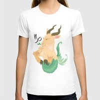 capricorn T-shirts featuring Capricorn by Rejdzy