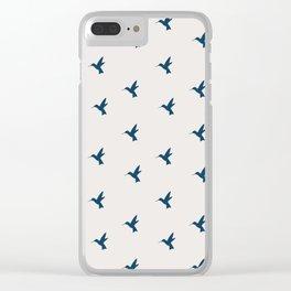 Hummingbird Flight Clear iPhone Case