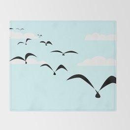 The Birds Throw Blanket