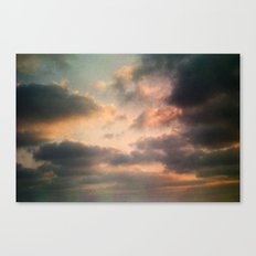 Dreamy Clouds Canvas Print