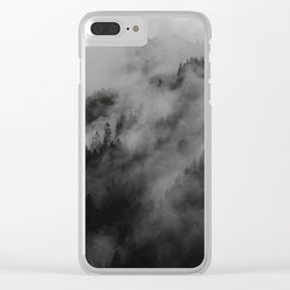 foggy feels Clear iPhone Case