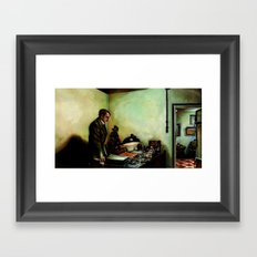 Hitler's Last Hour Framed Art Print