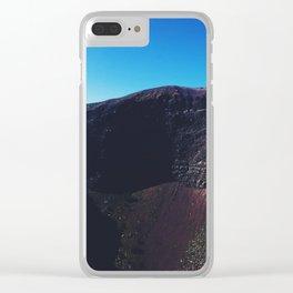 Top of Mount Vesuvius Clear iPhone Case