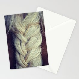 Braided Horse Tail Stationery Cards