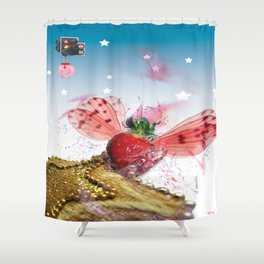 Crash ! Shower Curtain