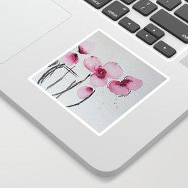 Orchids Watercolor Sticker