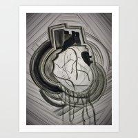 Bleeding Hearts Art Print