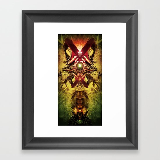 Spinal Tyrant mkii Framed Art Print