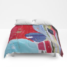 Pierre rouge, red stone Comforters