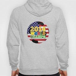 2014 World Champs Ball - USA Hoody