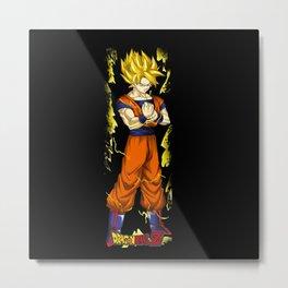 Super Saiyan Goku 0001 Metal Print