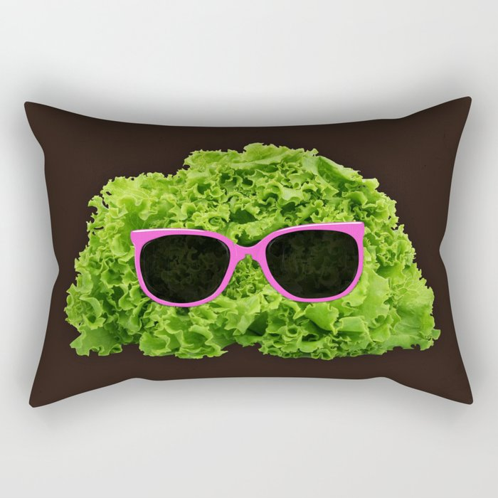 Mr Salad Rectangular Pillow