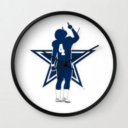 Dak Prescott Wall Clock