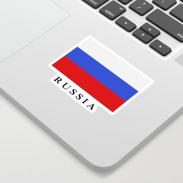 Russia flag Sticker
