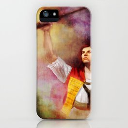 Les Misérables Enjolras Genderbend iPhone Case