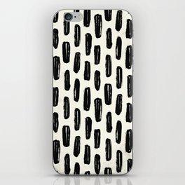 Ivory Vertical Dash iPhone Skin