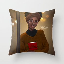 I AM ENOUGH by Bennie Buatsie Throw Pillow