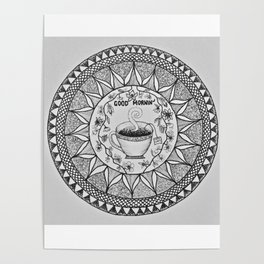 Wake up with a Cuppa Poster