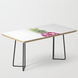 Pineapple Flowers Coffee Table