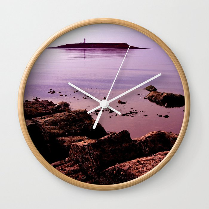 Pladda Sunset Wall Clock