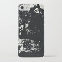 skyrim iPhone & iPod Cases featuring World on fire by  Maʁϟ