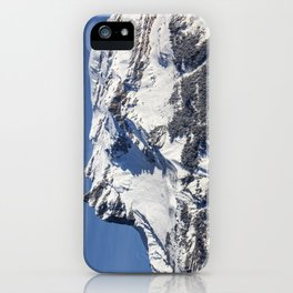 French Alps iPhone Case
