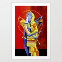 Cupido Mesclado Art Print