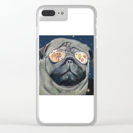 Dreaming of Hot Chicken Waffles and Beer Clear iPhone Case