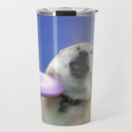 Frisbee Dog Travel Mug