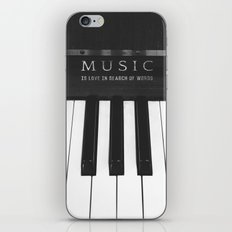 Love In Search Of Words iPhone & iPod Skin