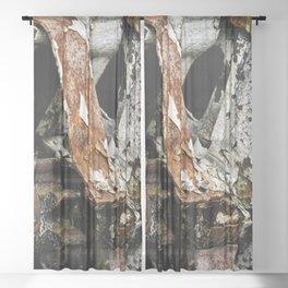 Rusting #1 Sheer Curtain