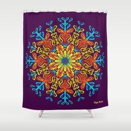 Gracias a la Vida (Lila) Shower Curtain