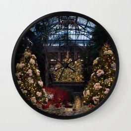 Longwood Gardens Christmas Series 1 Wall Clock