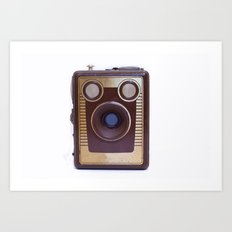 Boxed Camera Art Print