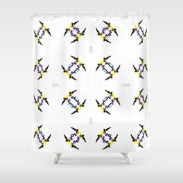Take The Bull By The Horns Shower Curtain