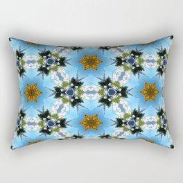 Golden City - 261 Rectangular Pillow