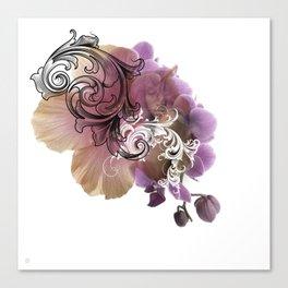 L'Orchidée Canvas Print