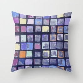 Cuban Art Throw Pillow