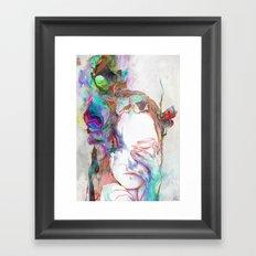 Falling In Framed Art Print