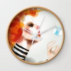 Pin Wall Clock