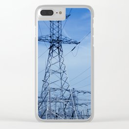 power plant Clear iPhone Case